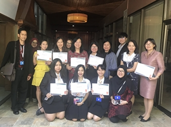 March 6,2019 -PhD students joined an International Conference at Pattaya, Thailand.  #Linguistic Program, Suan Sunandha Rajabhat University .