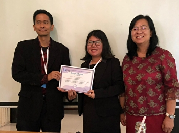 6 March 2019 Nguyen Thithanh Xuan, PhD student in Linguistics, Suan Sunandha Rajabhat University, got  Certificate of Excellencein an international conference.